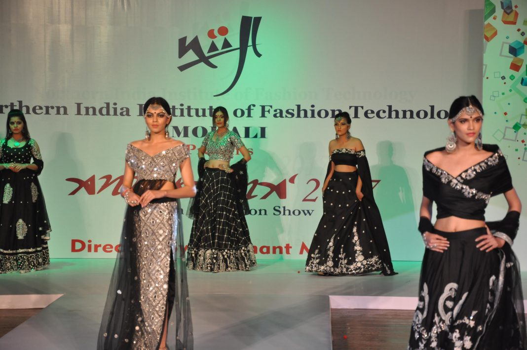 20th Anukama Fashion Show Of Niift Mohali Held At Tagore Theatre Worldwisdomnews