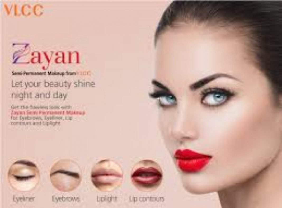 Vlcc Sets The Trend Launches Semi Permanent Makeup In India