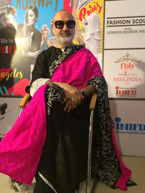 Veteran Bollywood Fashion Designer Kawaljit Singh At Inifd Chandigarh Worldwisdomnews