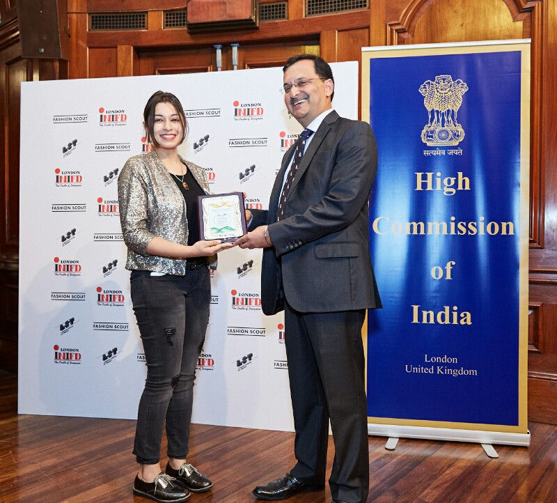Chandigarh Student Designers Honoured By Indian High Commission At London For Showcasing Their Collection During London Fashion Week Worldwisdomnews