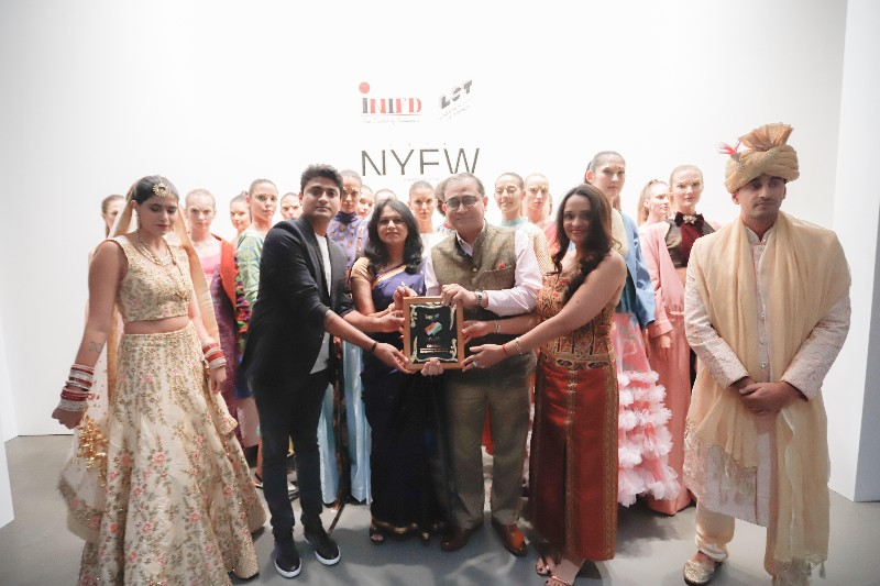 Inifd Designers London School Of Trends Showcase Collection At Vibrant India During New York Fashion Week Worldwisdomnews