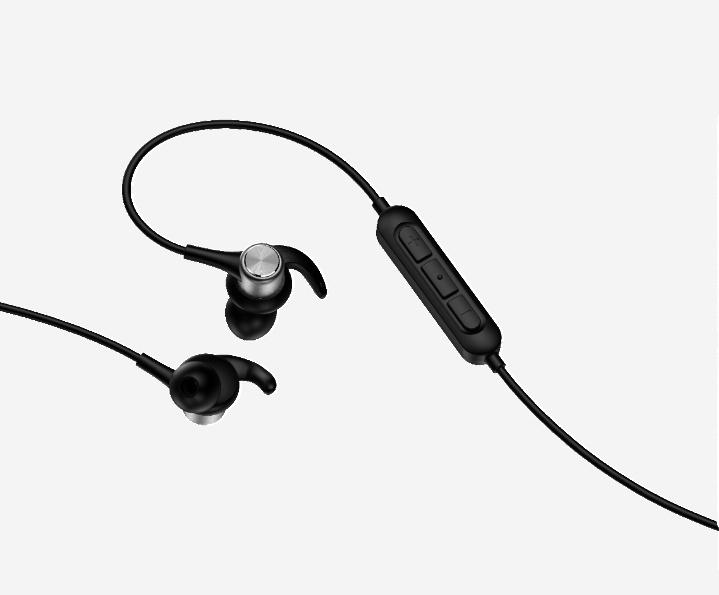Image result for Oraimo announced new range of Bluetooth earphones–Shark OEB-E57D